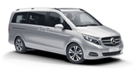 EA Chauffeur people carrier MPV Mercedes V Class